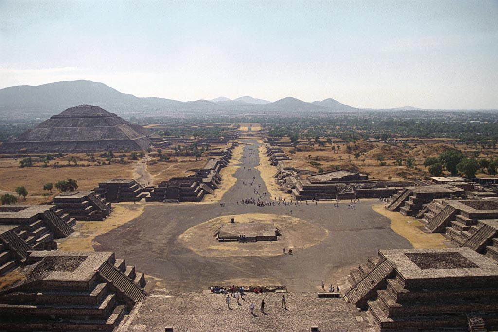 Teotihuacán. Mesoamerica's largest metropolis and its first main city. Established a civic, economic, and religious role for much of Mesoamerica.