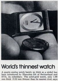 thinnestwatch