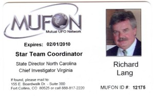 MUFON Star Team ID