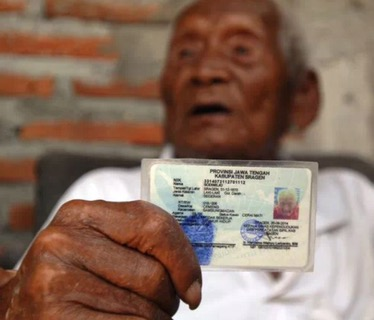 Is Mbah Gotho 146 years old?