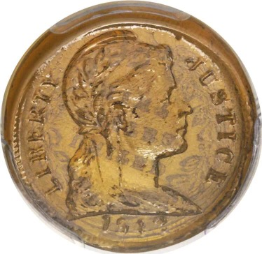 Glass penny sells for $70,500