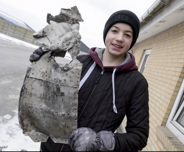 Teen's metal detector find: WWII plane with pilot | True Strange Library