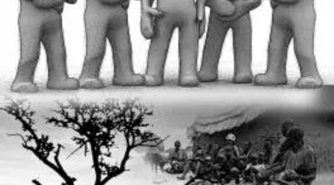 20 million face famine. Declassified US plan to help