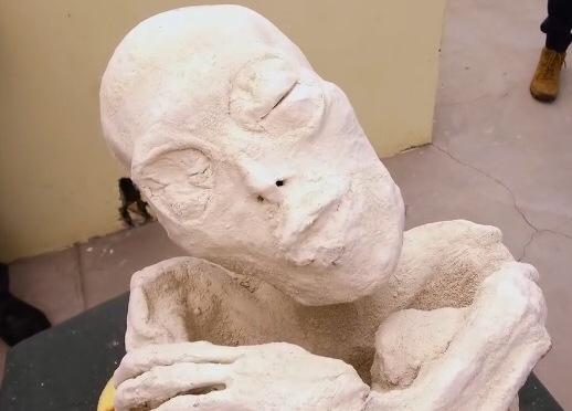 Three Fingered Alien Mummy?