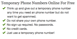 Avoid Spam: Temporary Phone Numbers | True Strange Library