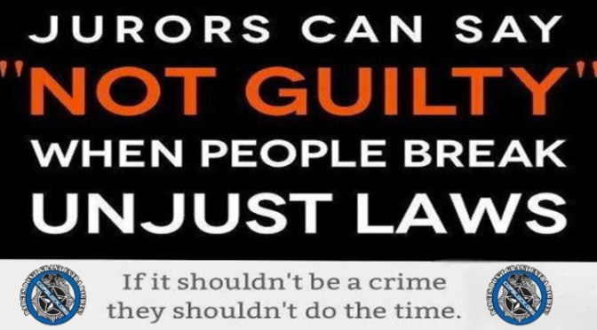 Jury Nullification: The Most Power You Have as a Private Citizen in the USA