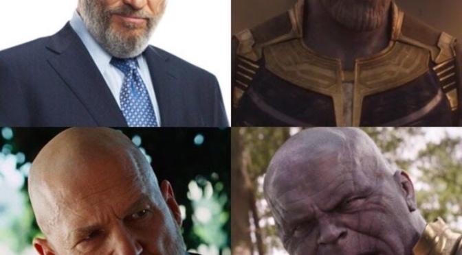 Thanos vs Obadiah Stane