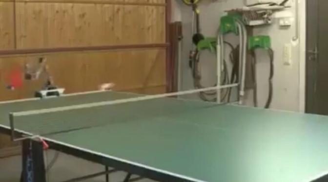 Videos: Ping Pong Playing Robots