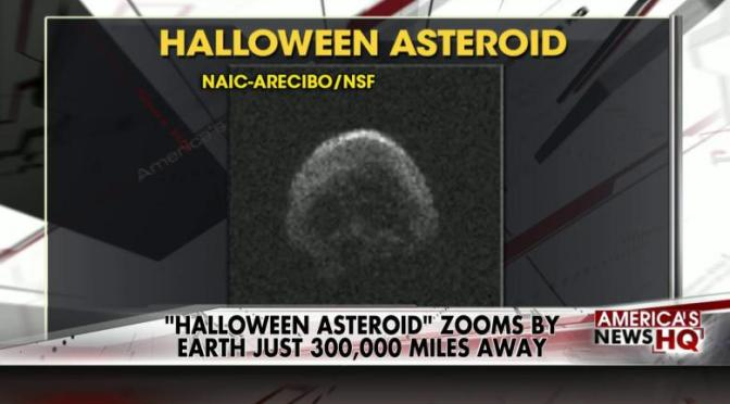 Skull Shaped Asteroid May be a Dead Comet