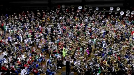 835 Tubas Playing at Once Win World Record