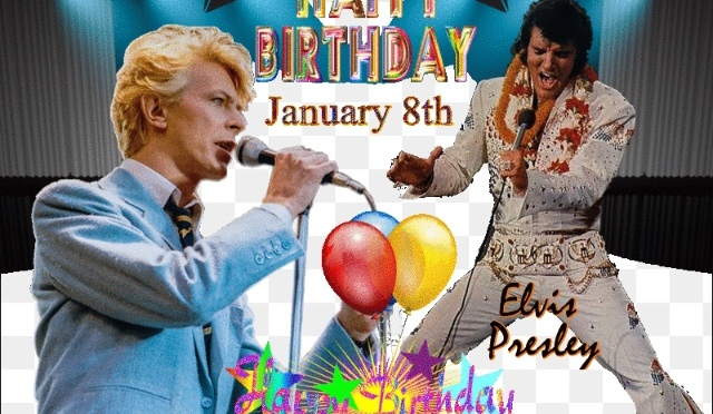 Happy Elvis/Bowie/Xeno Birthday