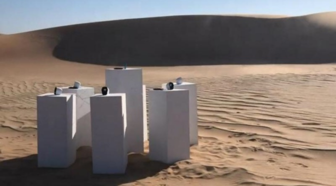 """Solar Art Installation to Play """"Africa"""" Song Forever"""