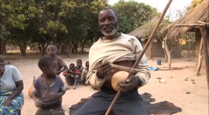 Strange Musical Instrument: The Kalumbu