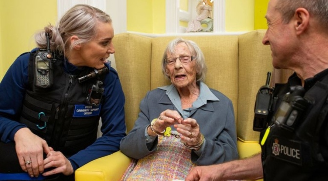 104 Year Old Woman Arrested… by Special Request