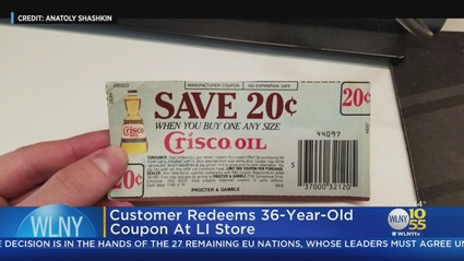 36-Year Old Coupon Honored