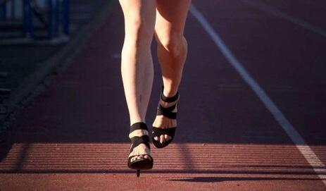 New Record: For High-Heels Marathon