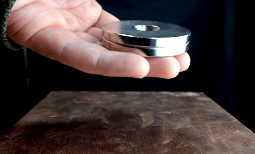 Video: Copper's Surprising Reaction to Strong Magnets