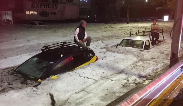 Up to 6 ft of Ice: After Hot Month, Freak Hailstorm Covers City